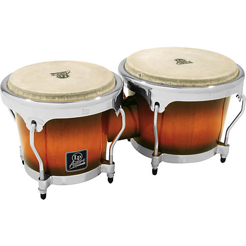 LP LPA601 Aspire Oak Bongos with Chrome Hardware thumbnail