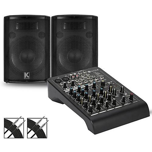 RCF LPAD-6X Mixer and Kustom HiPAC Speakers thumbnail