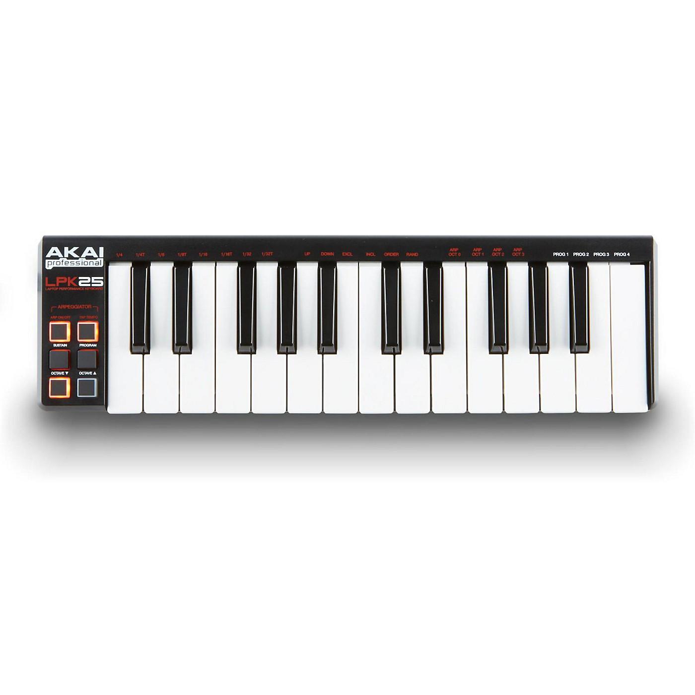 Akai Professional LPK25 Laptop Performance Keyboard thumbnail