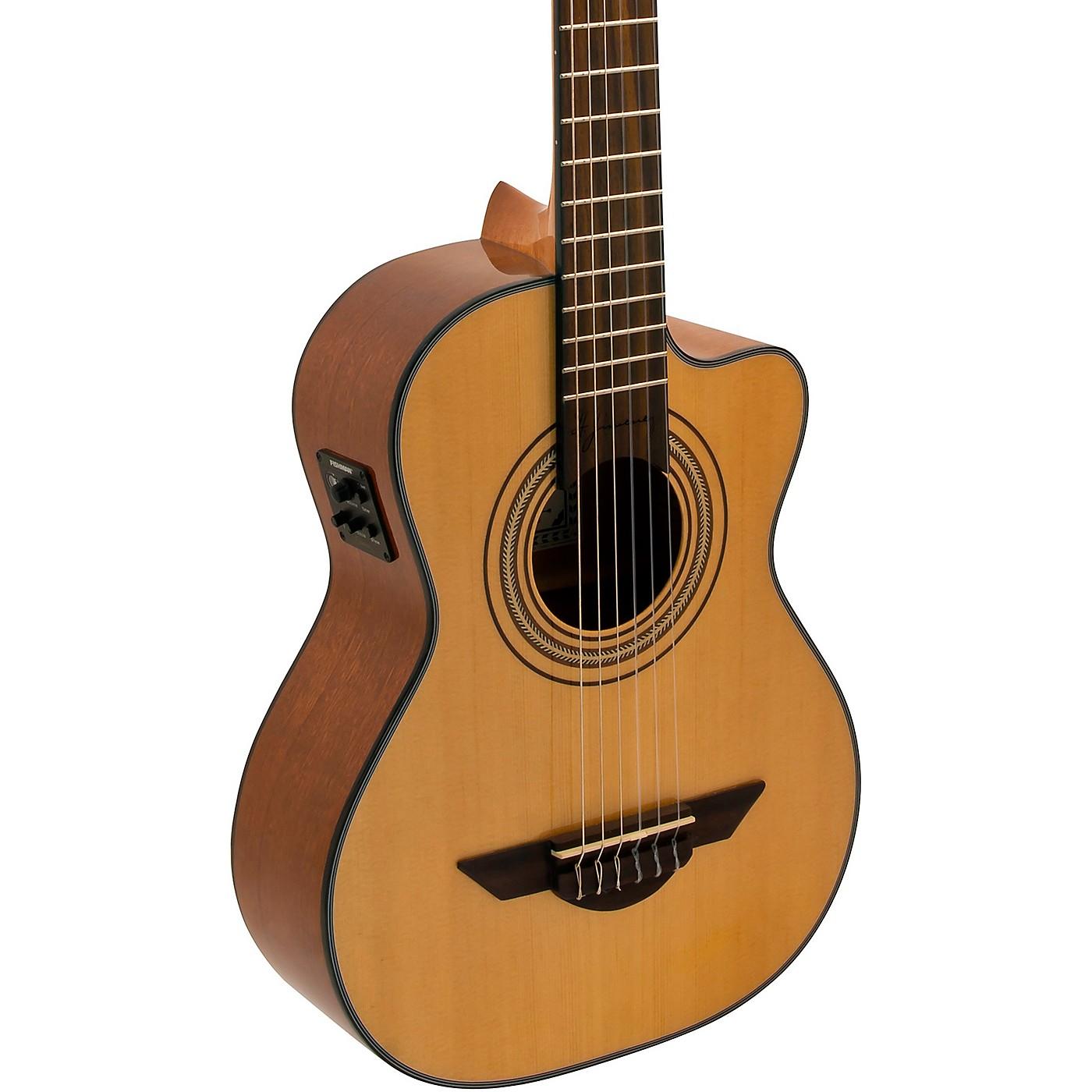 H. Jimenez LR2CE Voz de Trio Requinto Acoustic-Electric Guitar thumbnail