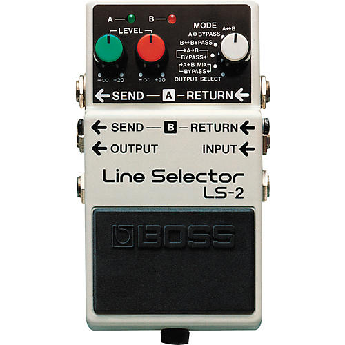 Boss LS-2 Line Selector/Power Supply-thumbnail
