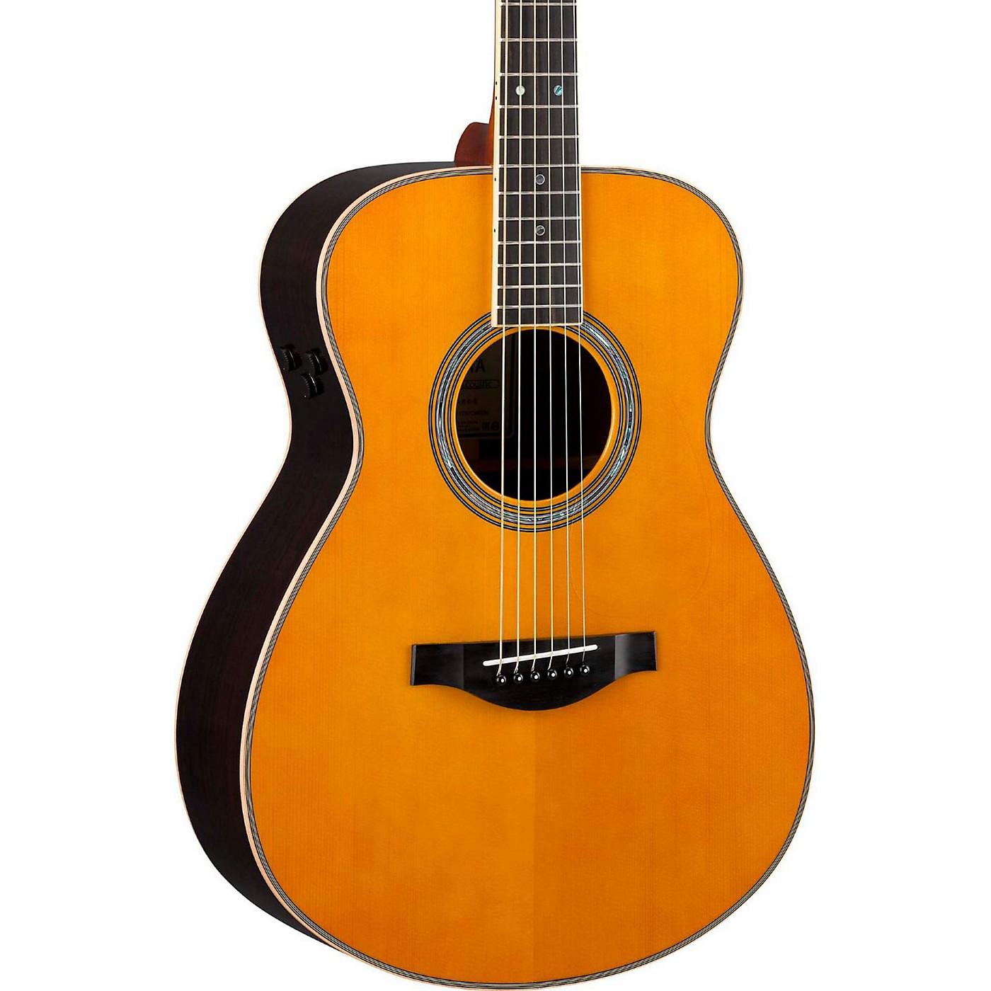 Yamaha LS TransAcoustic Jumbo Concert Acoustic-Electric Guitar thumbnail