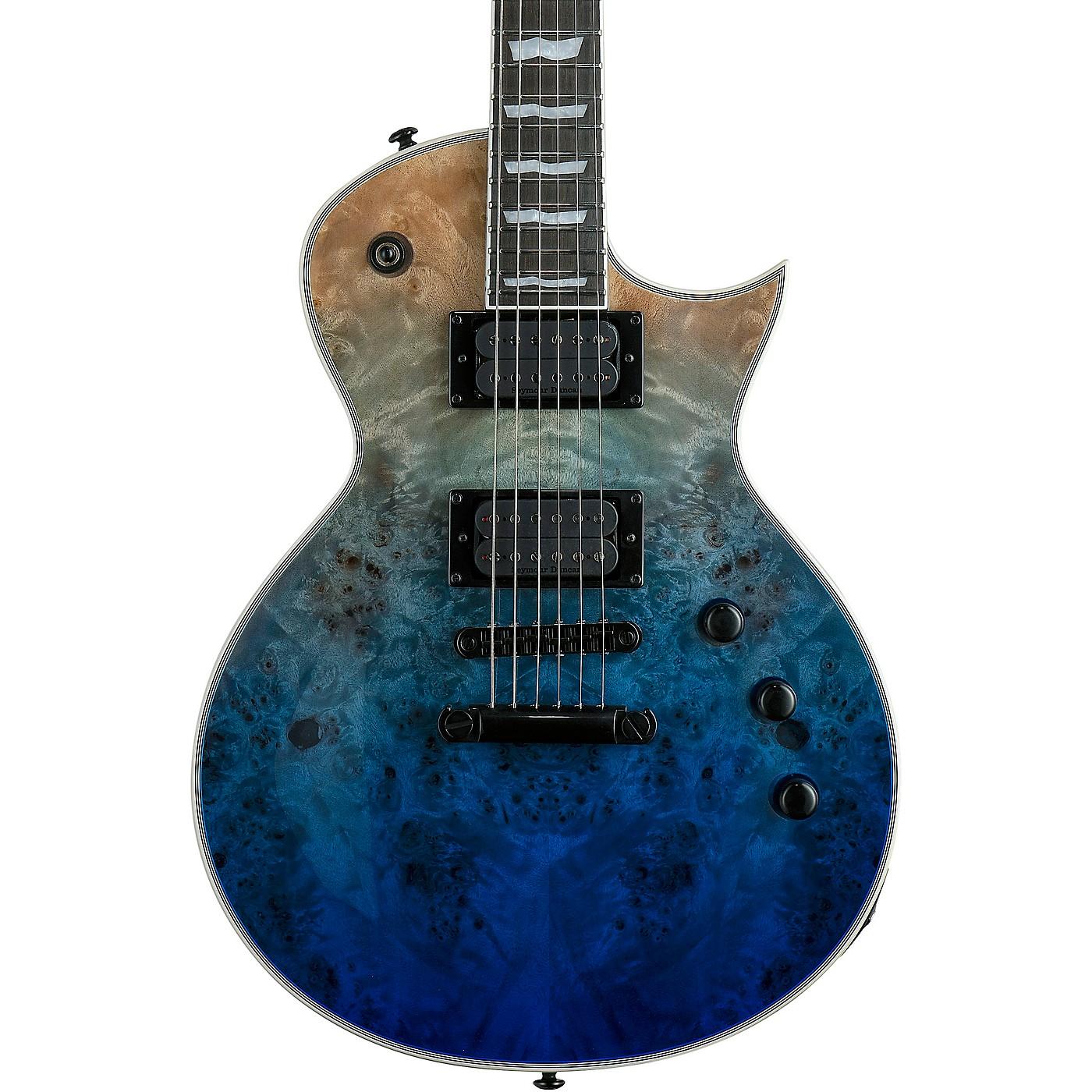 ESP LTD EC-1000 Burl Poplar Electric Guitar thumbnail