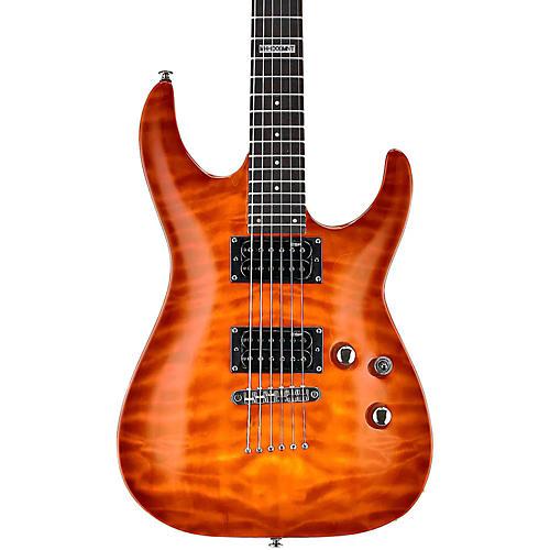 ESP LTD LMH100QMNT Quilt Maple Top Electric Guitar-thumbnail