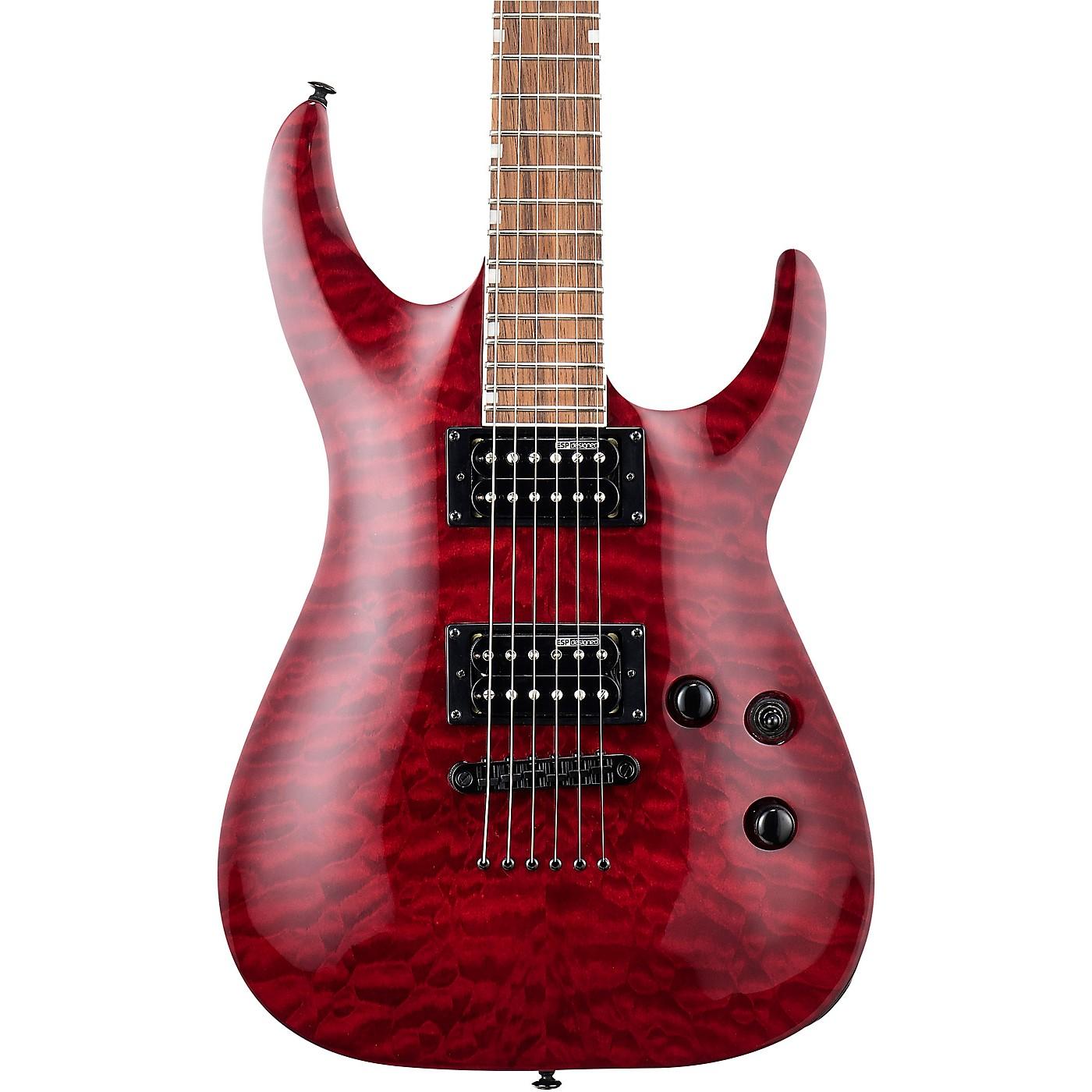 ESP LTD MH-200QM NT Electric Guitar thumbnail