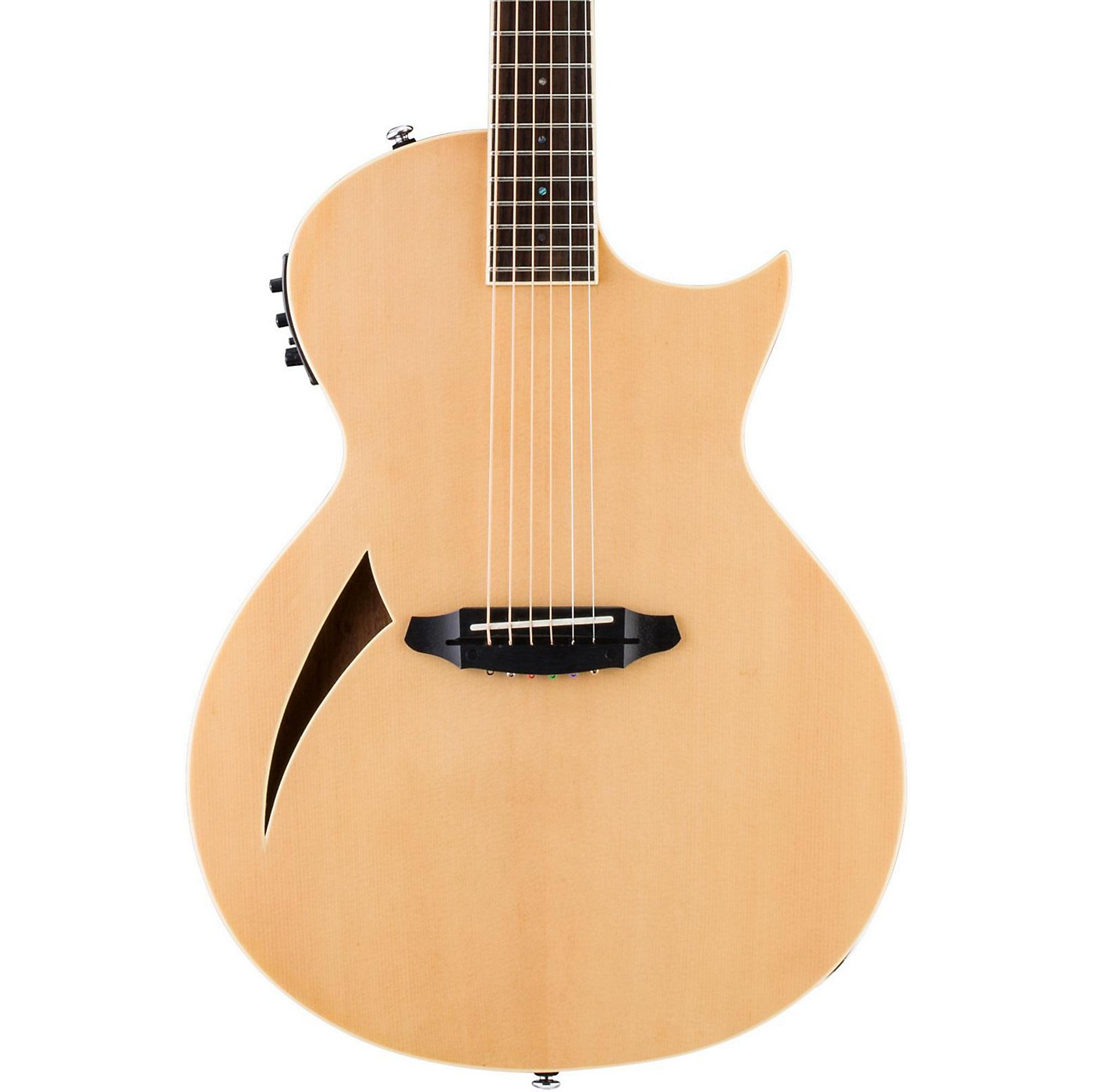ESP LTD TL-6 Thinline Acoustic-Electric Guitar thumbnail