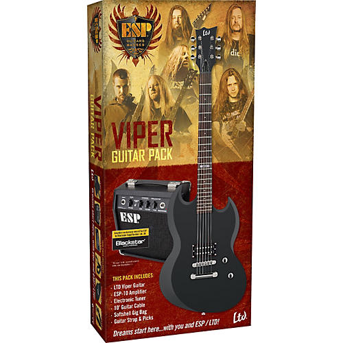 ESP LTD Viper Electric Guitar Value Package thumbnail
