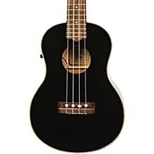 Lanikai LUTU-21TEK BK TunaUke Gloss Black Tenor Acoustic-Electric Ukulele
