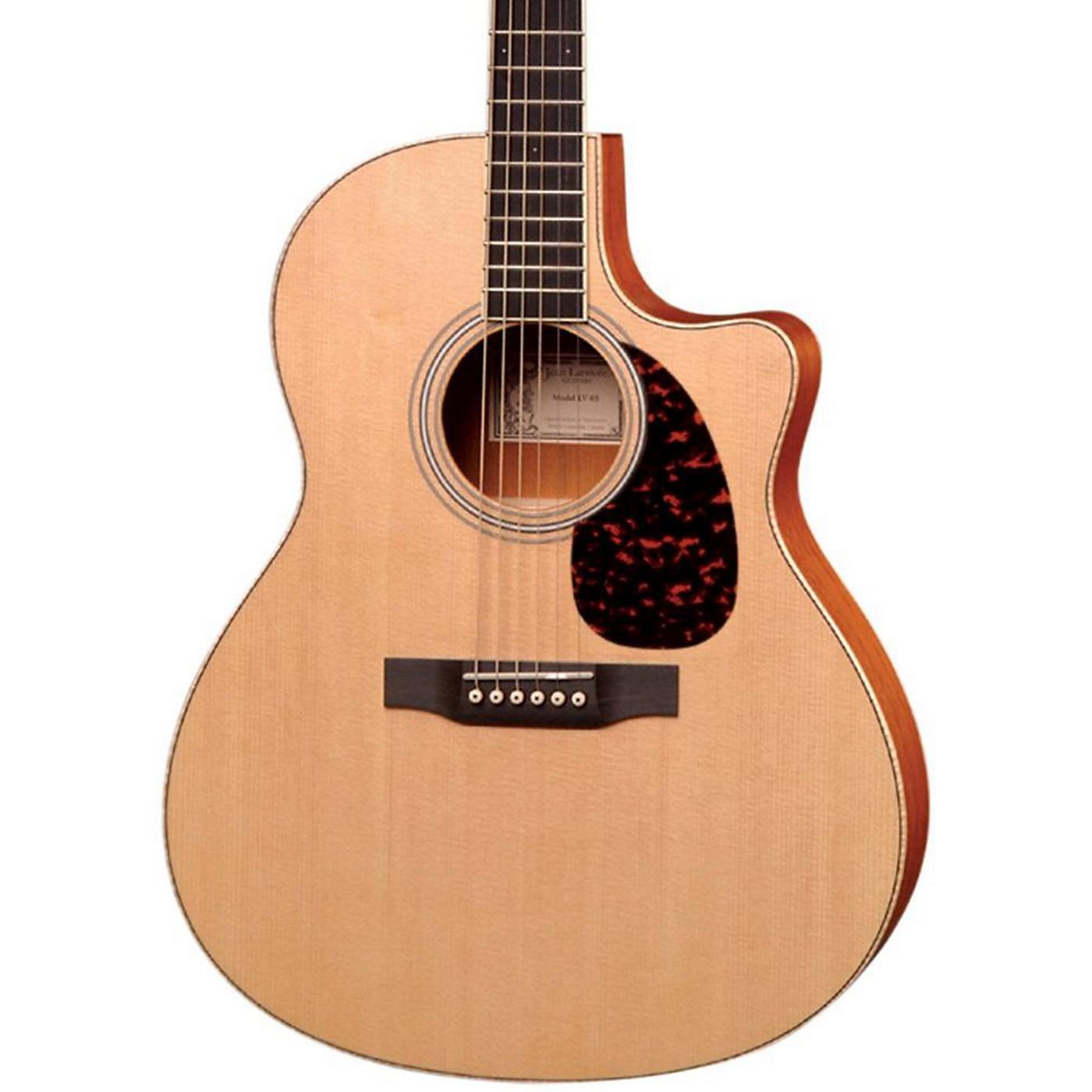 Larrivee LV-03E Mahogany Standard Series Cutaway Acoustic-Electric Guitar thumbnail