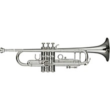 Levante LV-TR6301 Bb Professional Trumpet with Monel Valves - Silver Plated