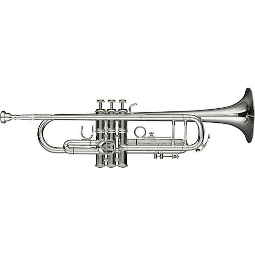 Levante LV-TR6301 Bb Professional Trumpet with Monel Valves - Silver Plated thumbnail