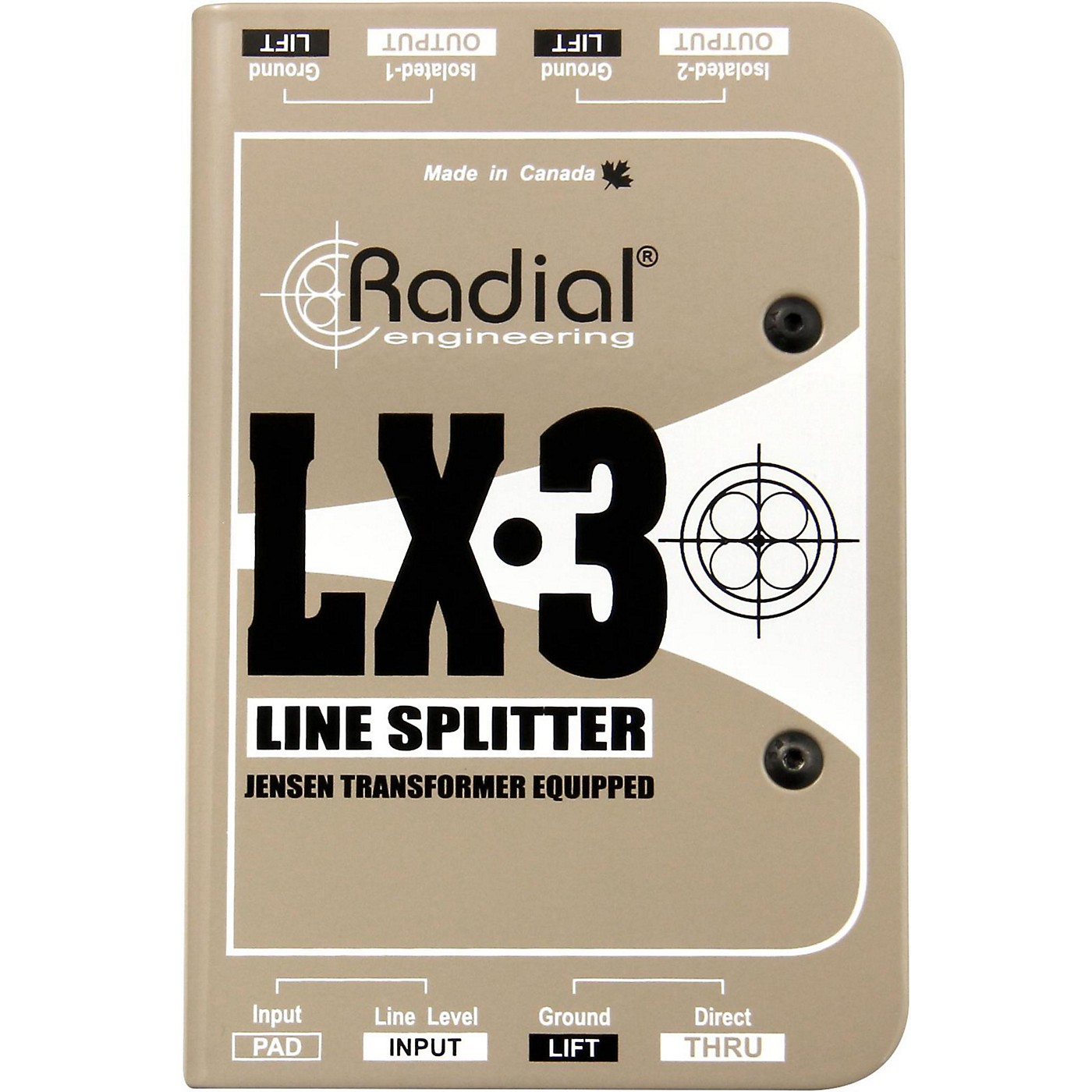 Radial Engineering LX-3 Passive 3 Channel Line Splitter thumbnail
