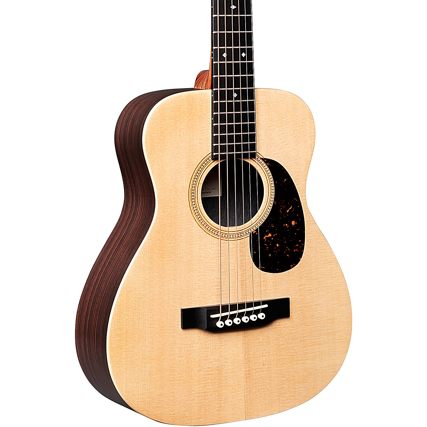 Martin LX1R Little Martin with Rosewood HPL Acoustic Guitar thumbnail