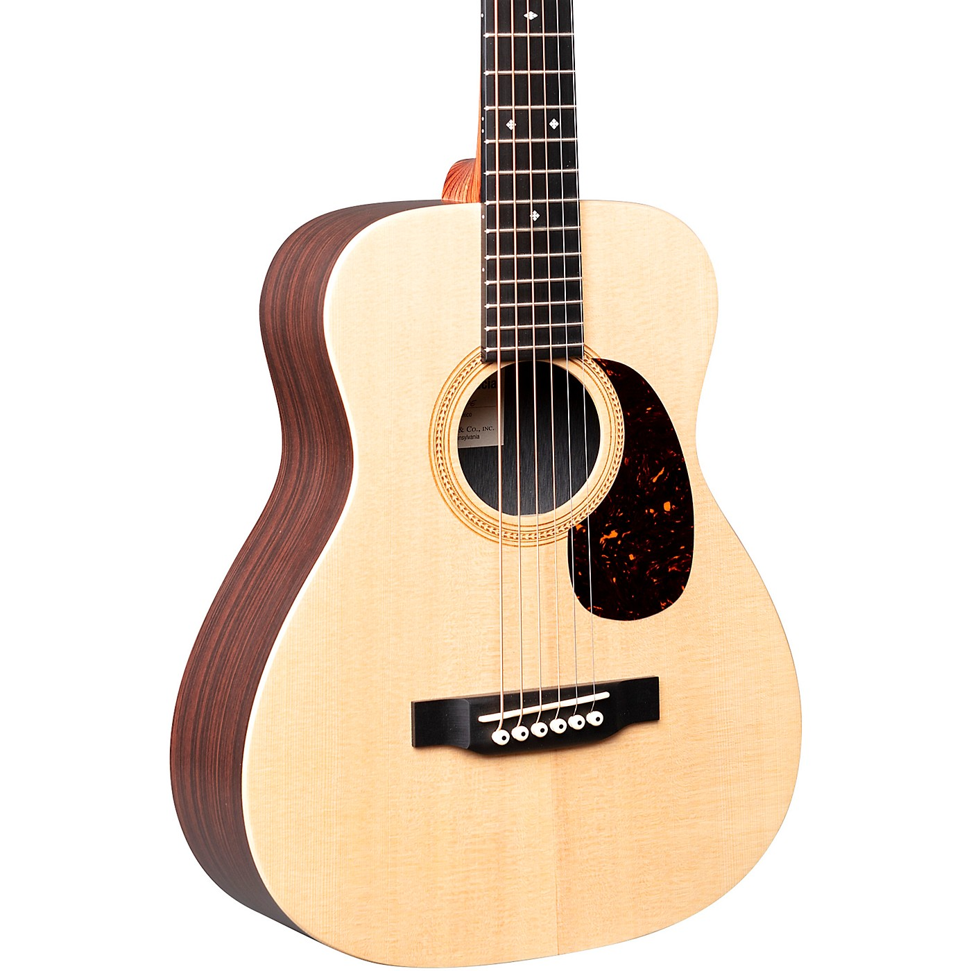 Martin LX1RE Little Martin with Rosewood HPL Acoustic-Electric Guitar thumbnail