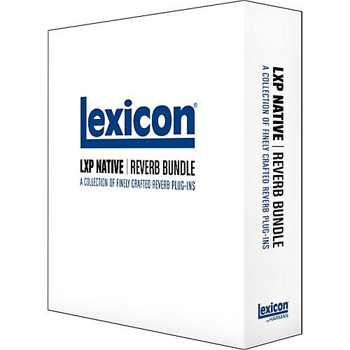 Lexicon LXP Native Reverb Bundle Software-thumbnail