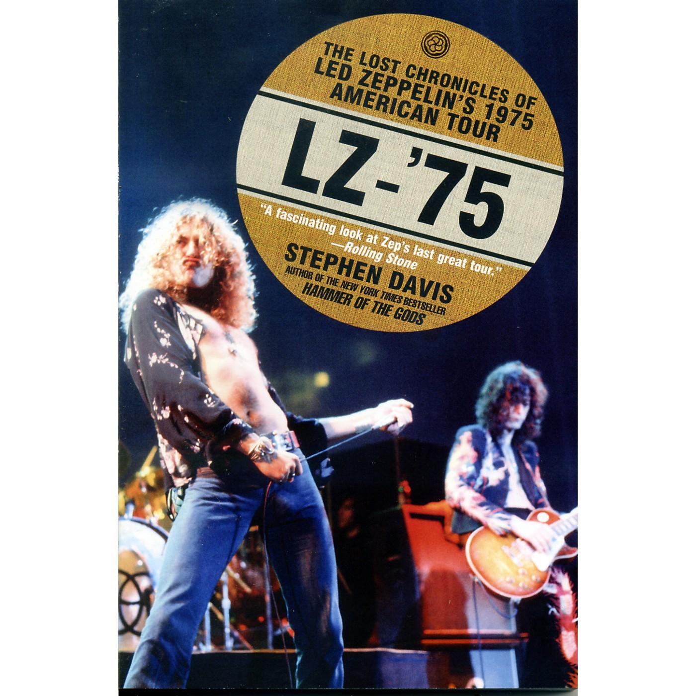Alfred LZ-'75: Led Zeppelin Tour Book thumbnail
