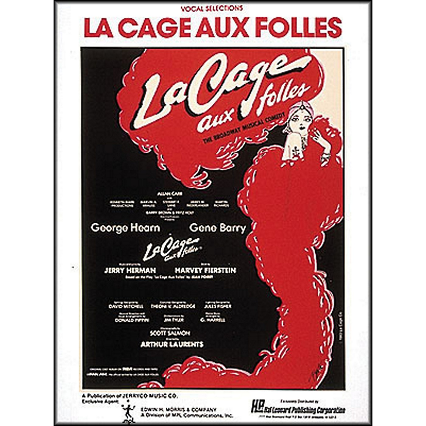 Hal Leonard La Cage Aux Folles Vocal Selections arranged for piano, vocal, and guitar (P/V/G) thumbnail