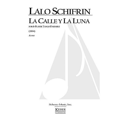 Lauren Keiser Music Publishing La Calle y la Luna (for 6-Player Tango Ensemble) LKM Music Series by Lalo Schifrin thumbnail