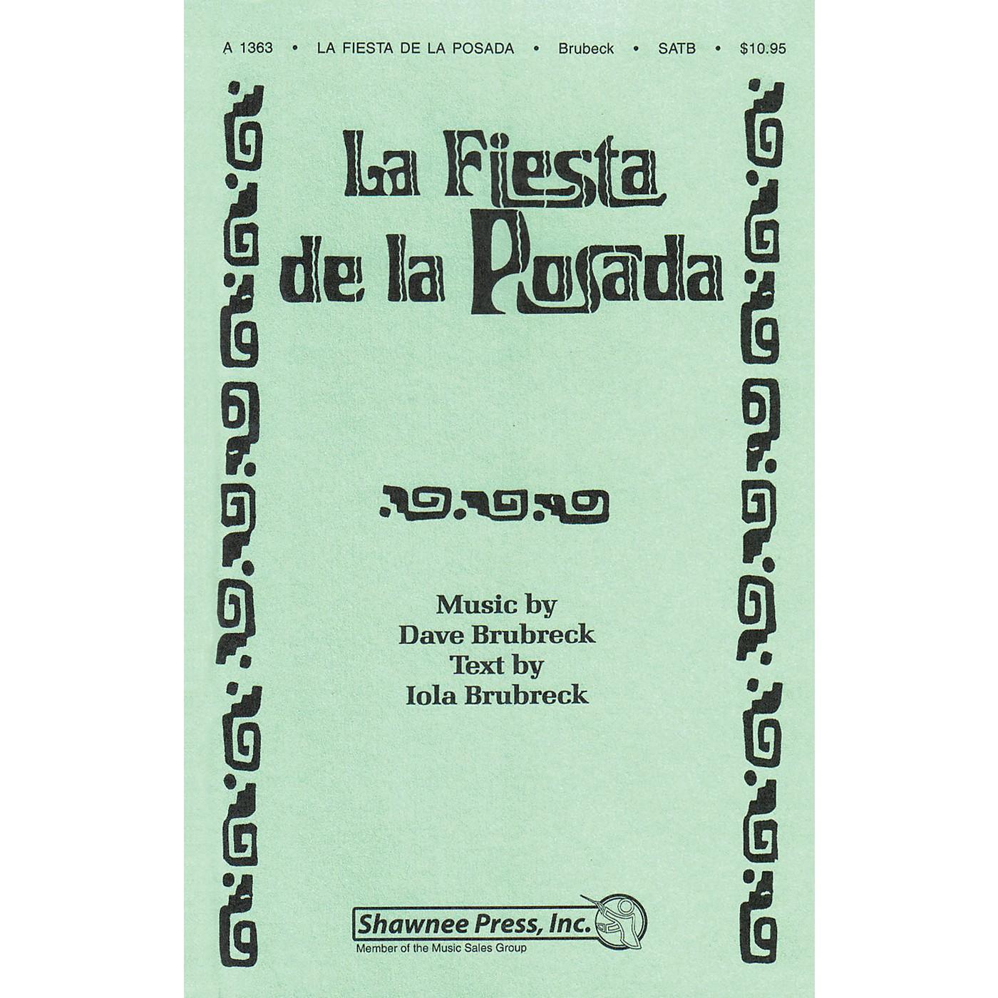 Shawnee Press La Fiesta de la Posada (2 Trumpets, Rhythm) INSTRUMENTAL ACCOMP PARTS Composed by Dave Brubeck thumbnail