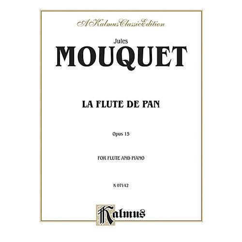 Alfred La Flute de Pan Op. 15 for Flute By Jules Mouquet Book thumbnail