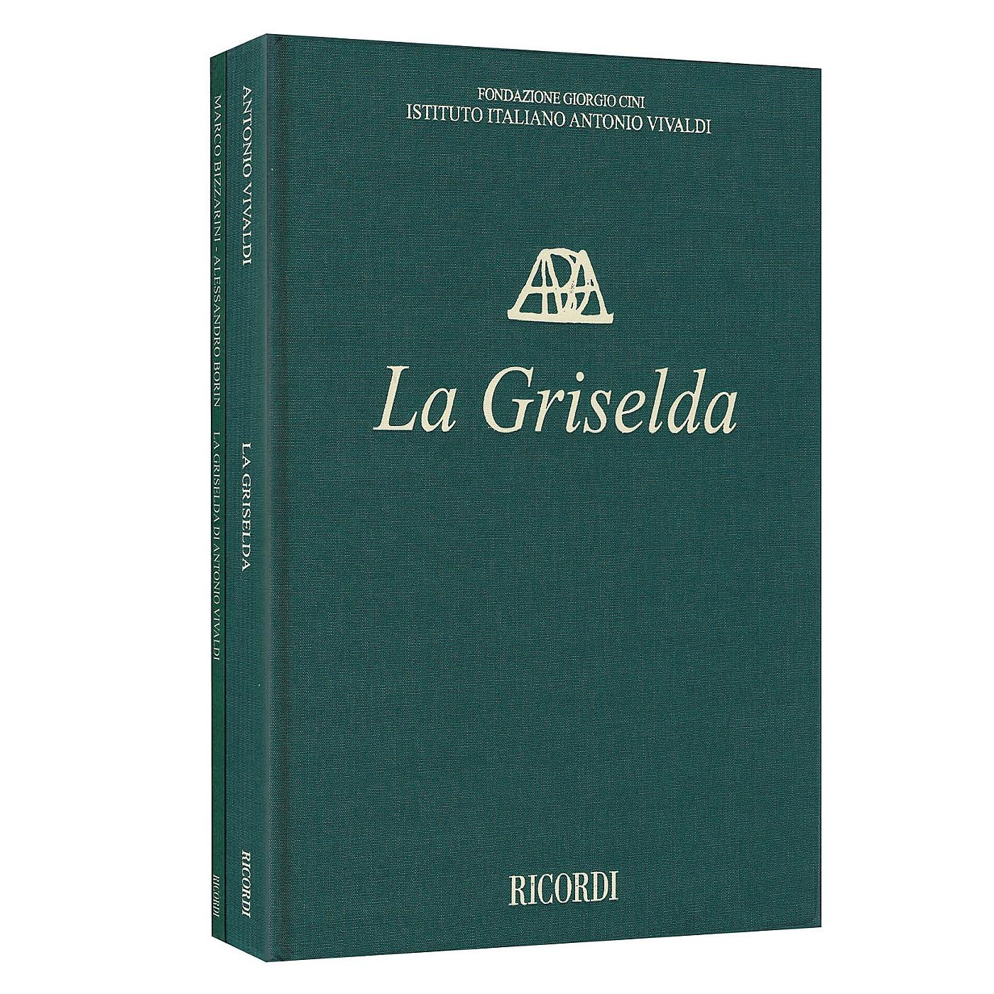 Ricordi La Griselda RV 718 - Critical Edition of the Works of Vivaldi Hardcover Edited by Alessandro Borin thumbnail