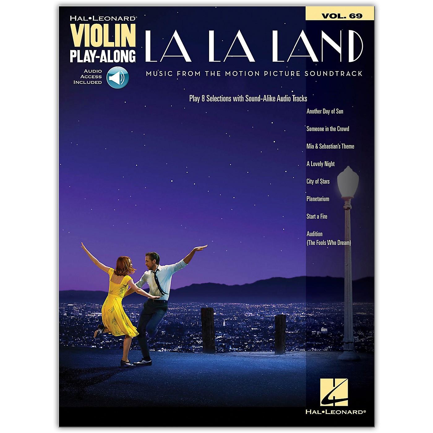 Hal Leonard La La Land - Violin Play-Along Series Book/Audio Online thumbnail