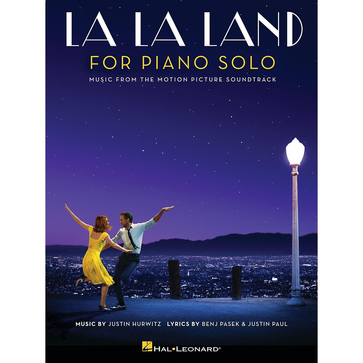 Hal Leonard La La Land for Piano Solo (Intermediate Level) Piano Solo Songbook thumbnail