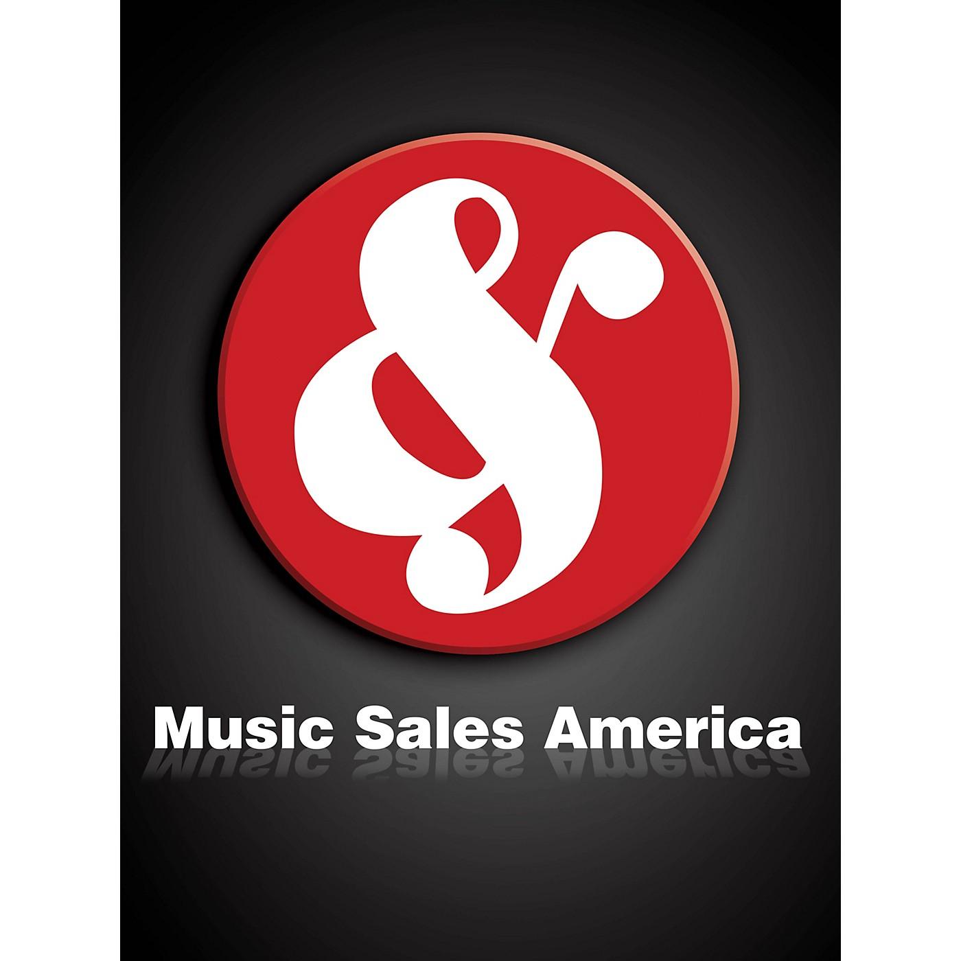 Union Musicale La Oracion del Torero Music Sales America Series Composed by Joaquín Turina thumbnail