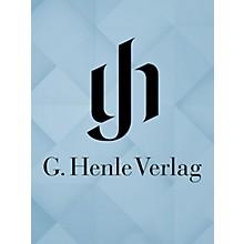 G. Henle Verlag La Vera Costanza - Dramma Giocoso per Musica Henle Edition Series Softcover