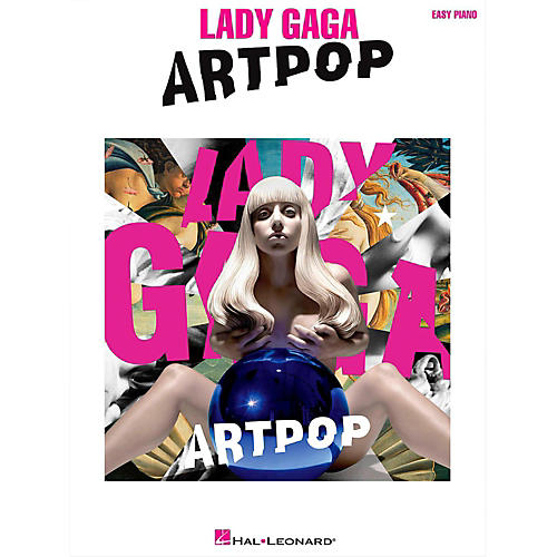Hal Leonard Lady Gaga - Artpop for Easy Piano thumbnail