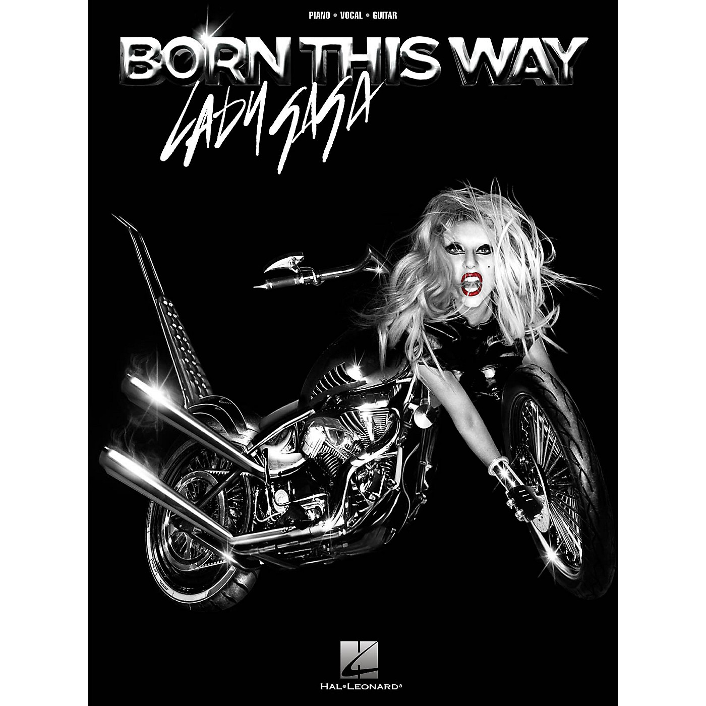 Hal Leonard Lady Gaga: Born This Way PVG Songbook thumbnail