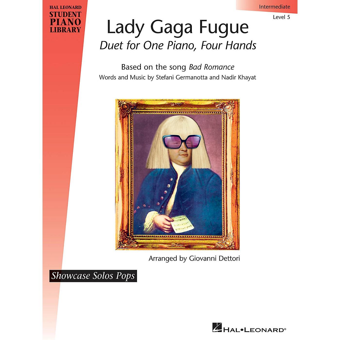 Hal Leonard Lady Gaga Fugue Piano Library Series Performed by Lady Gaga (Level 5) thumbnail