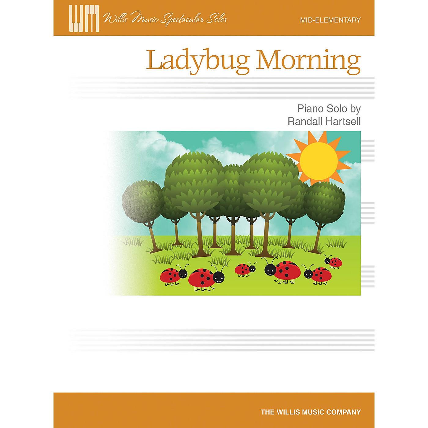 Willis Music Ladybug Morning (Mid-Elem Level) Willis Series by Randall Hartsell thumbnail