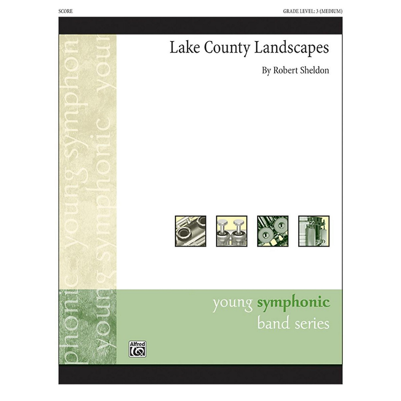 Alfred Lake County Landscapes Concert Band Grade 3 thumbnail