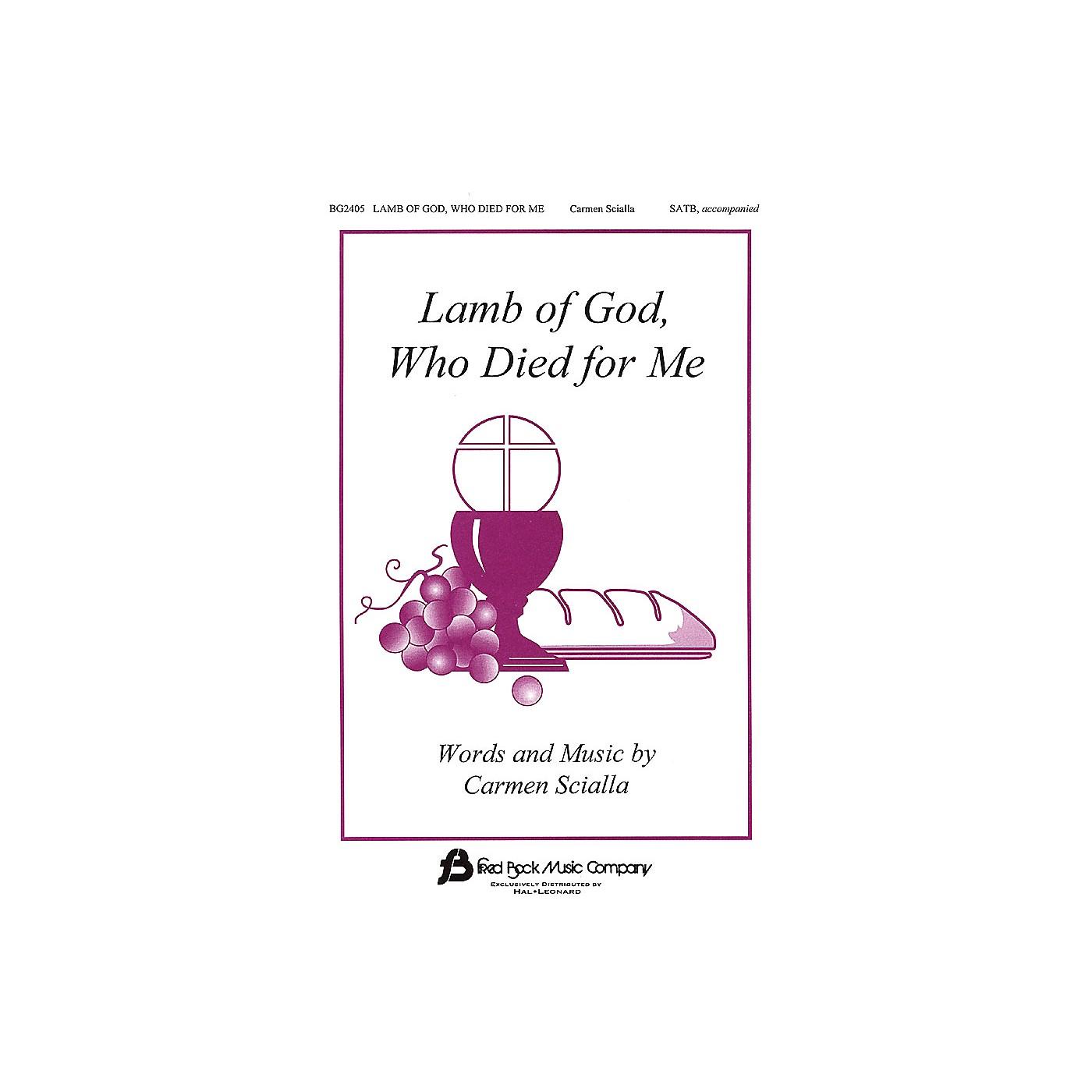 Hal Leonard Lamb Of God Who Died For Me SATB thumbnail