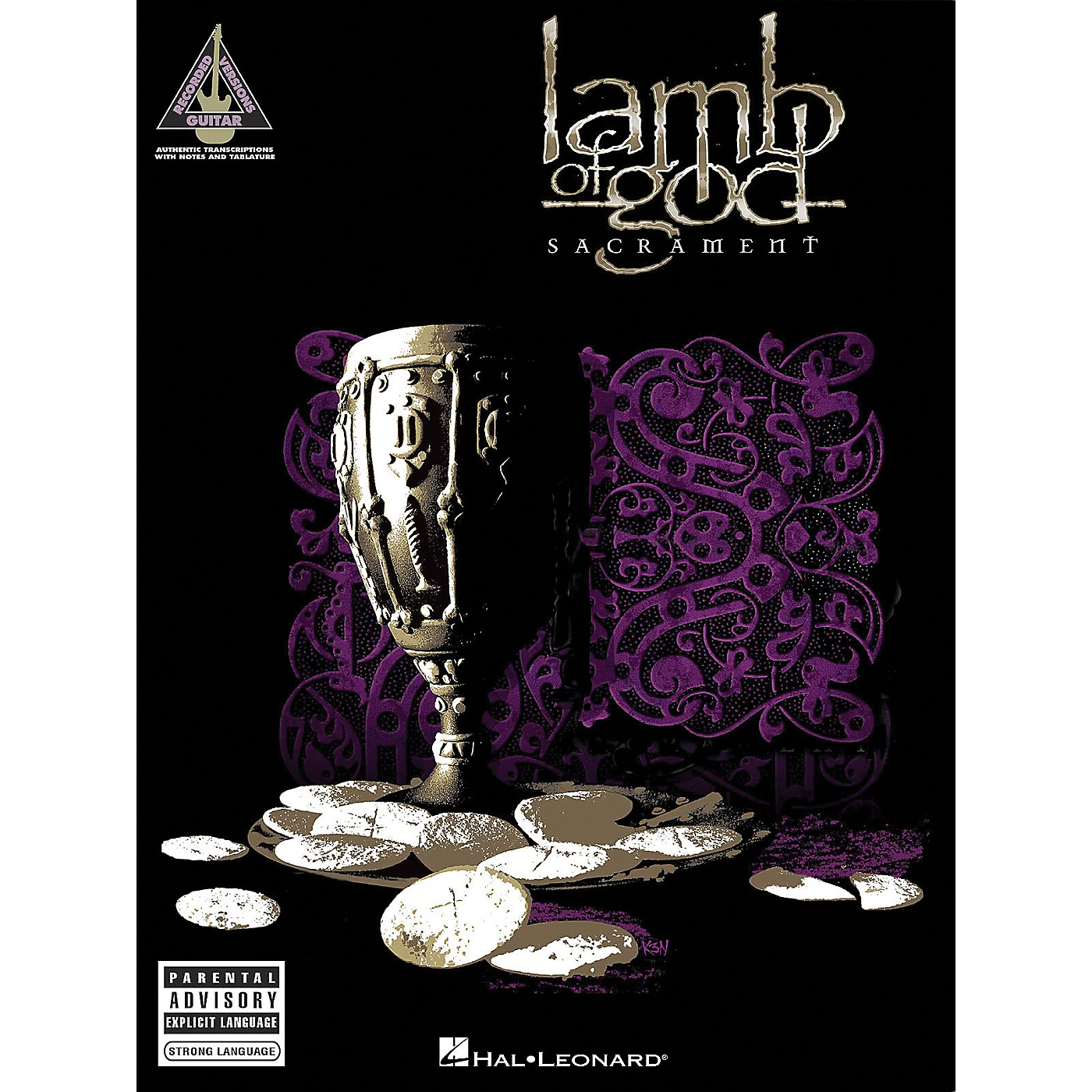 Hal Leonard Lamb of God - Sacrament Guitar Tab Songbook thumbnail