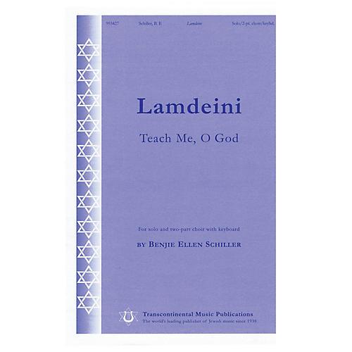 Transcontinental Music Lamdeini (Teach Me, O God) 2-Part composed by Benjie-Ellen Schiller thumbnail
