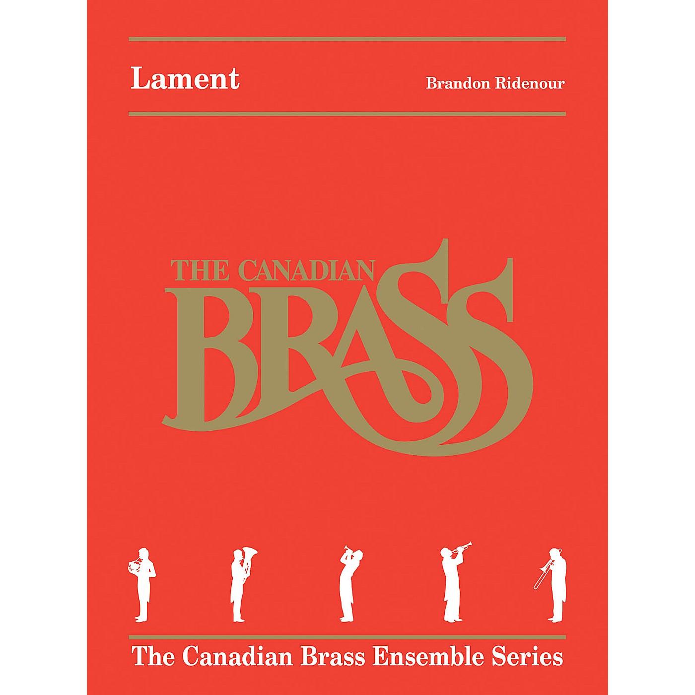 Canadian Brass Lament (Brass Quintet) Brass Ensemble Series by Brandon Ridenour thumbnail
