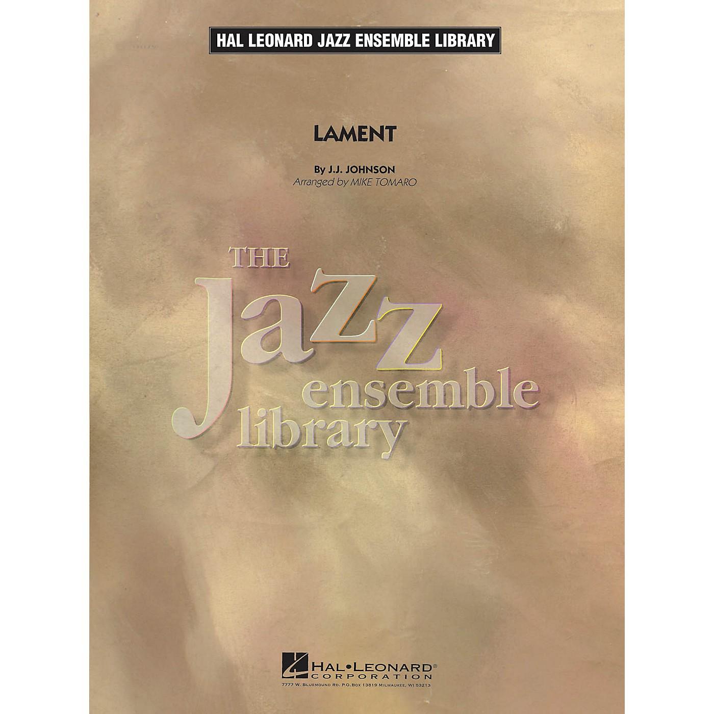 Hal Leonard Lament Jazz Band Level 4 Arranged by Mike Tomaro thumbnail