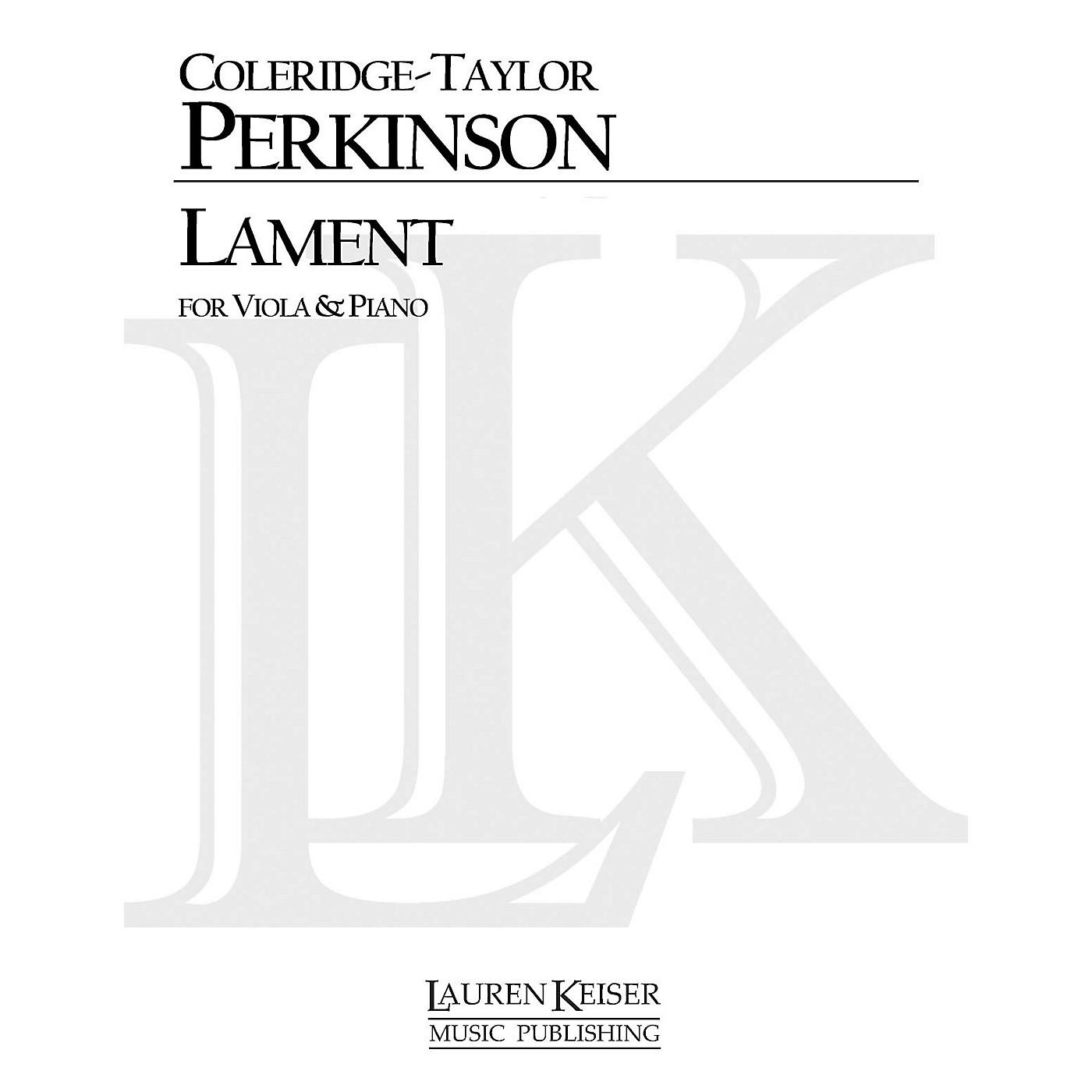Lauren Keiser Music Publishing Lament (Viola and Piano) LKM Music Series thumbnail