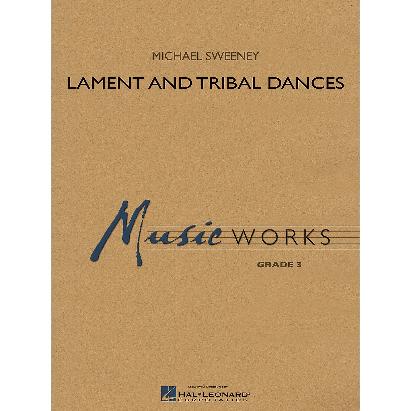 Hal Leonard Lament and Tribal Dances Concert Band Level 3 Composed by Michael Sweeney thumbnail