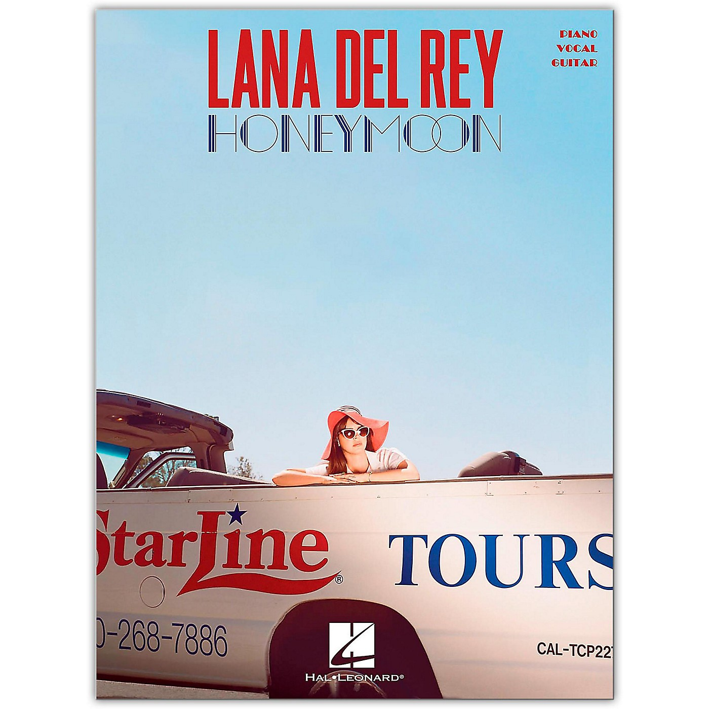 Hal Leonard Lana Del Rey - Honeymoon Piano/Vocal/Guitar Songbook thumbnail