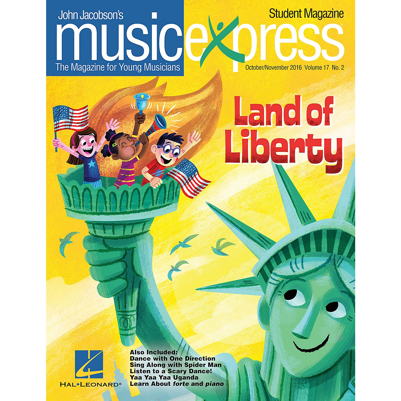 Hal Leonard Land of Liberty Vol. 17 No. 2 TEACHER W/AUDIO&PDF DOWNLOADS by One Direction Arranged by Emily Crocker thumbnail