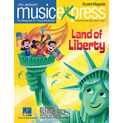 Hal Leonard Land of Liberty Vol. 17 No. 2 TEACHER W/AUDIO&PDF DOWNLOADS by One Direction Arranged by Emily Crocker thumbnail
