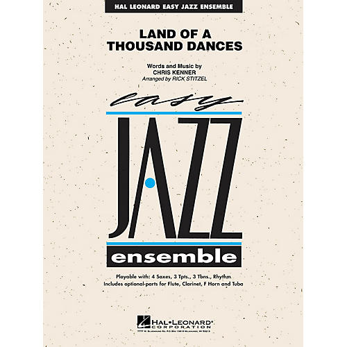 Hal Leonard Land of a Thousand Dances Jazz Band Level 2 Arranged by Rick Stitzel thumbnail