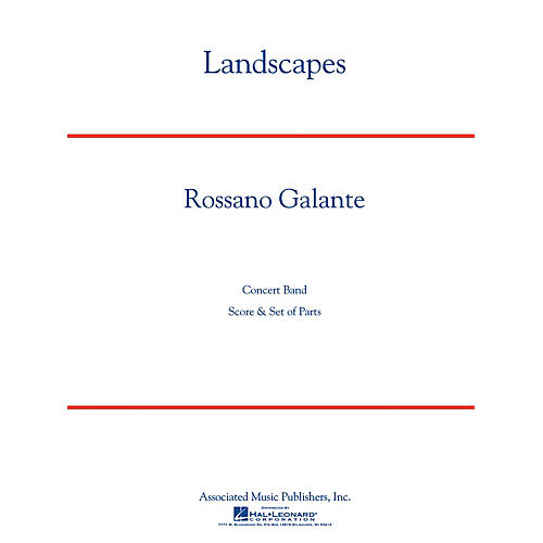 Associated Landscapes Concert Band Level 5 Composed by Rossano Galante thumbnail