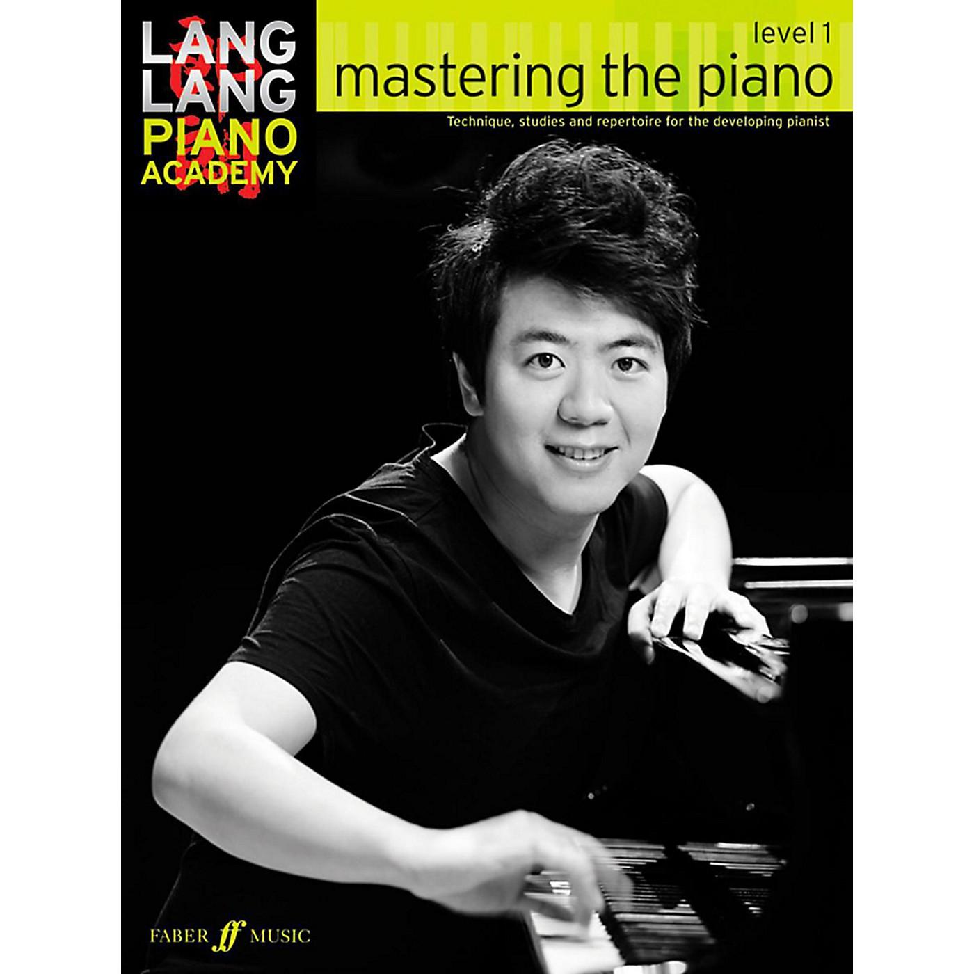 Faber Music LTD Lang Lang Piano Academy: Mastering the Piano Level 1 Book thumbnail