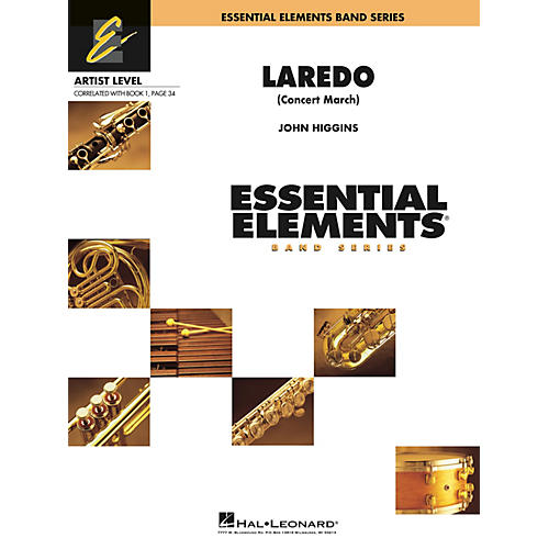 Hal Leonard Laredo (Concert March) Concert Band Level 1 Composed by John Higgins thumbnail