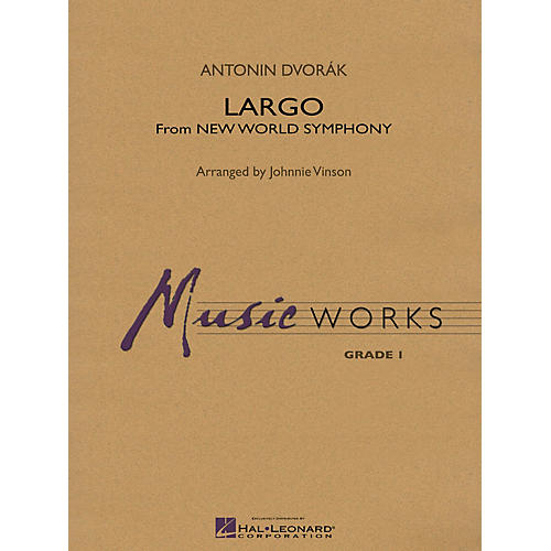 Hal Leonard Largo (From NEW WORLD SYMPHONY) Concert Band Level 1.5 Arranged by Johnnie Vinson thumbnail