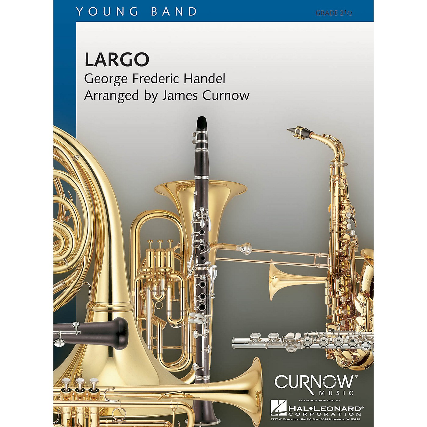 Curnow Music Largo (Grade 2.5 - Score Only) Concert Band Level 2.5 Arranged by James Curnow thumbnail